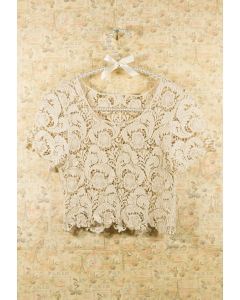 Blouse en Crochet Vintage
