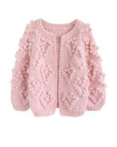 Tricotez votre Amour Cardigan rose