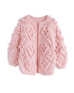 Tricotez votre Amour Cardigan pour enfants rose