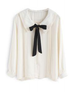 Inspiration de la chemise arc-en-crème à la crème